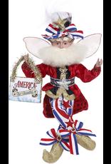 Mark Roberts Fairies Patriotic America The Beautiful Fairy 10.5 Inch