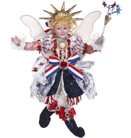 Mark Roberts Fairies Patriotic Lady Liberty Fairy 10 Inch