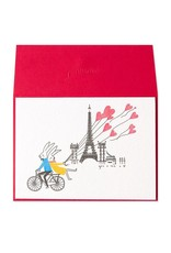 PAPYRUS® Anniversary Card Rabbit Couple On Bike