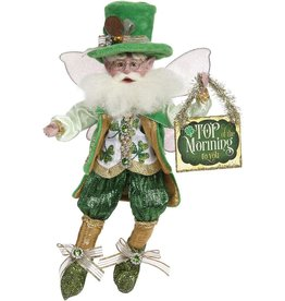 Mark Roberts Fairies Irish St Patricks Top Of The Morning Fairy SM 10 Inch