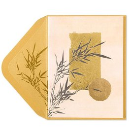 PAPYRUS® Sympathy Card Bamboo Asian Art