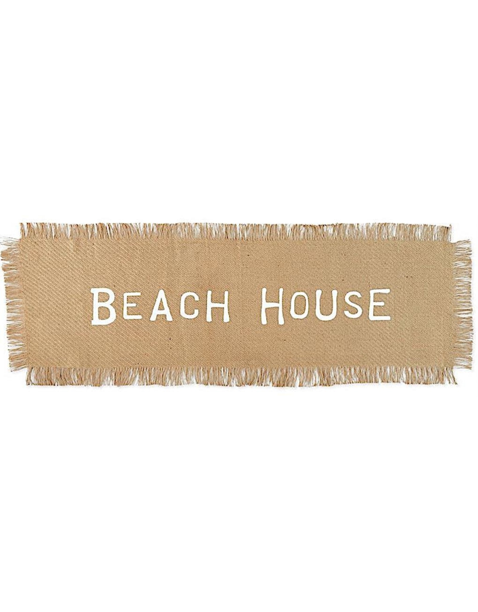 Mud Pie Beach House Just Table Runner 21x72 Inch