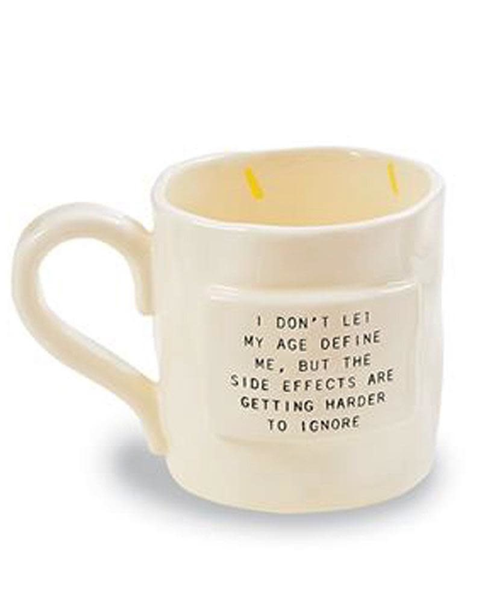 Mud Pie Birthday Mug In Gift Bag At My Age Getting Lucky Means