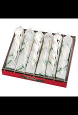 Christopher Radko Shiny Brite Christmas Confetti Icicles Frosty 6 Inch