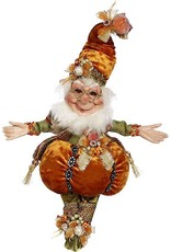 Mark Roberts Fairies Elves Fall Halloween Treat Pumpkin Elf SM 10 Inch 51-96882