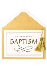 PAPYRUS® Baptism Cards On Your Baptism Gold Lettering