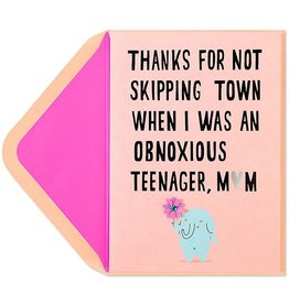 PAPYRUS® Mothers Day Cards - Skipping Town Elephant Holding Flower