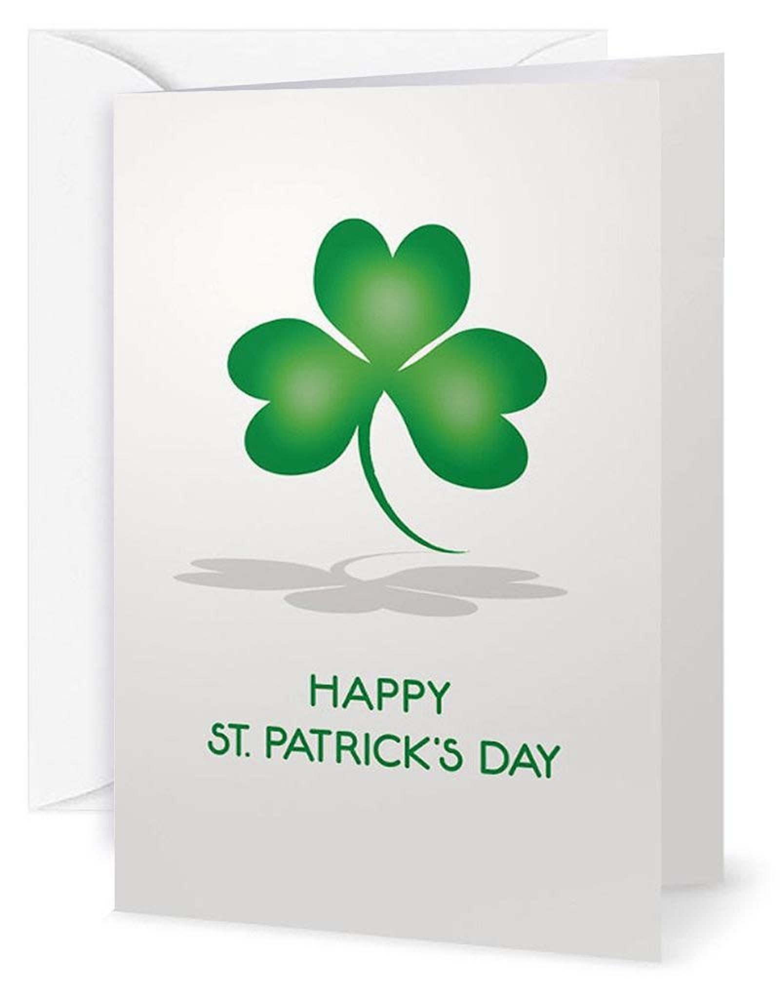 Charles W St Patricks Day Card Happiness Health Good Fortune Irish Blessings
