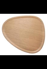 Mariposa Ary Home Oak Viventium Layered Wood Veneer Triangle Tray