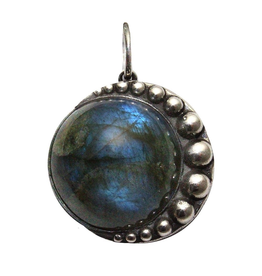 Waxing Poetic® Jewelry Nightaire Pendant-Sterling Silver-Labradorite