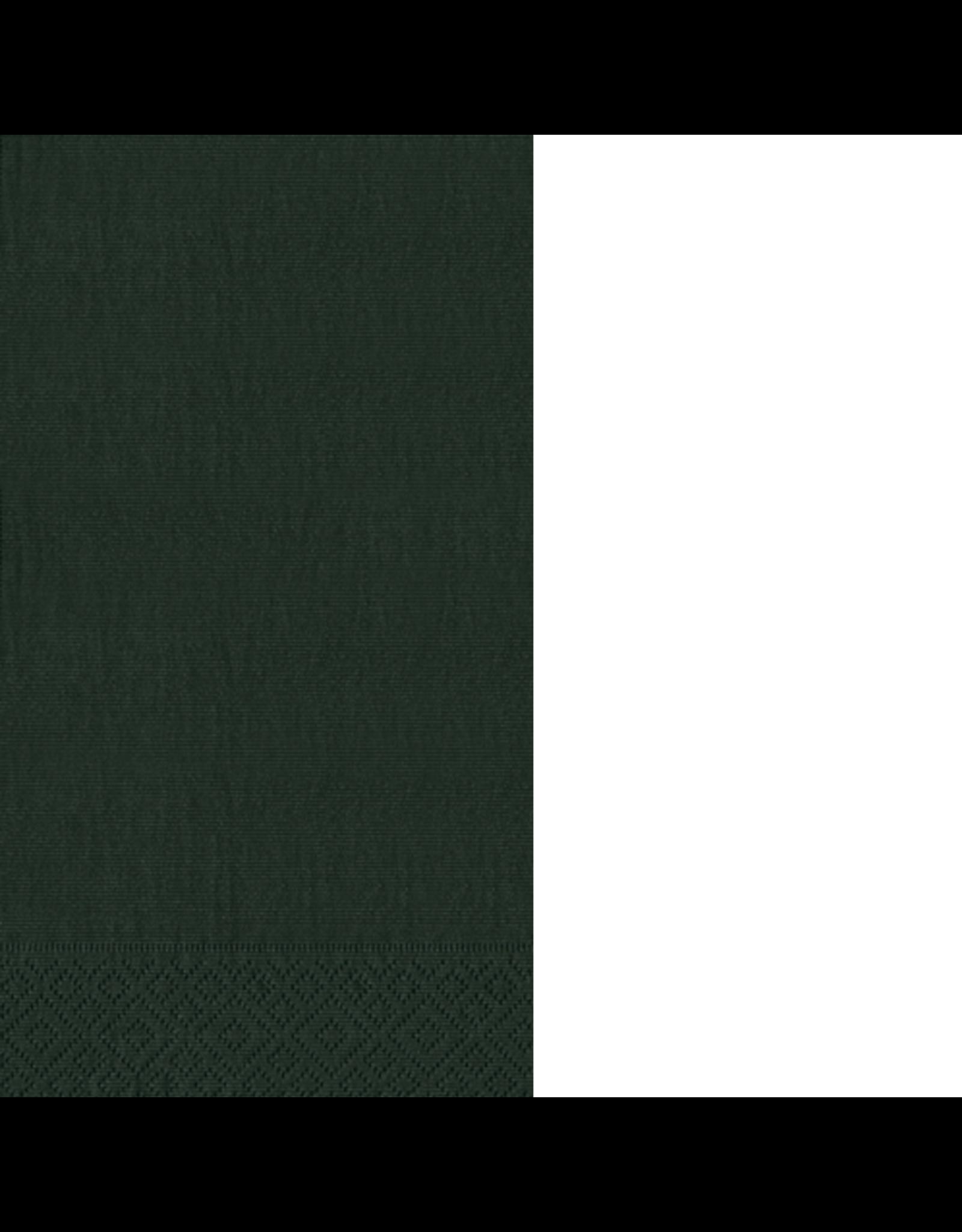 Caspari Paper Guest Towel Napkins 15ct Grosgrain Black