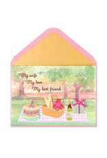 PAPYRUS® Birthday Card For Wife Birthday Picnic