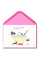PAPYRUS® Birthday Card Birthday Girl Bath Time