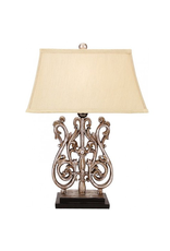Mark Roberts Home Decor Acanthus Swirl Lamp 24 Inch