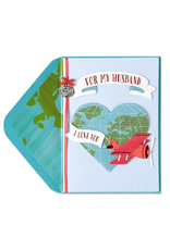 PAPYRUS® Birthday Card For Husband Love To Give You the World