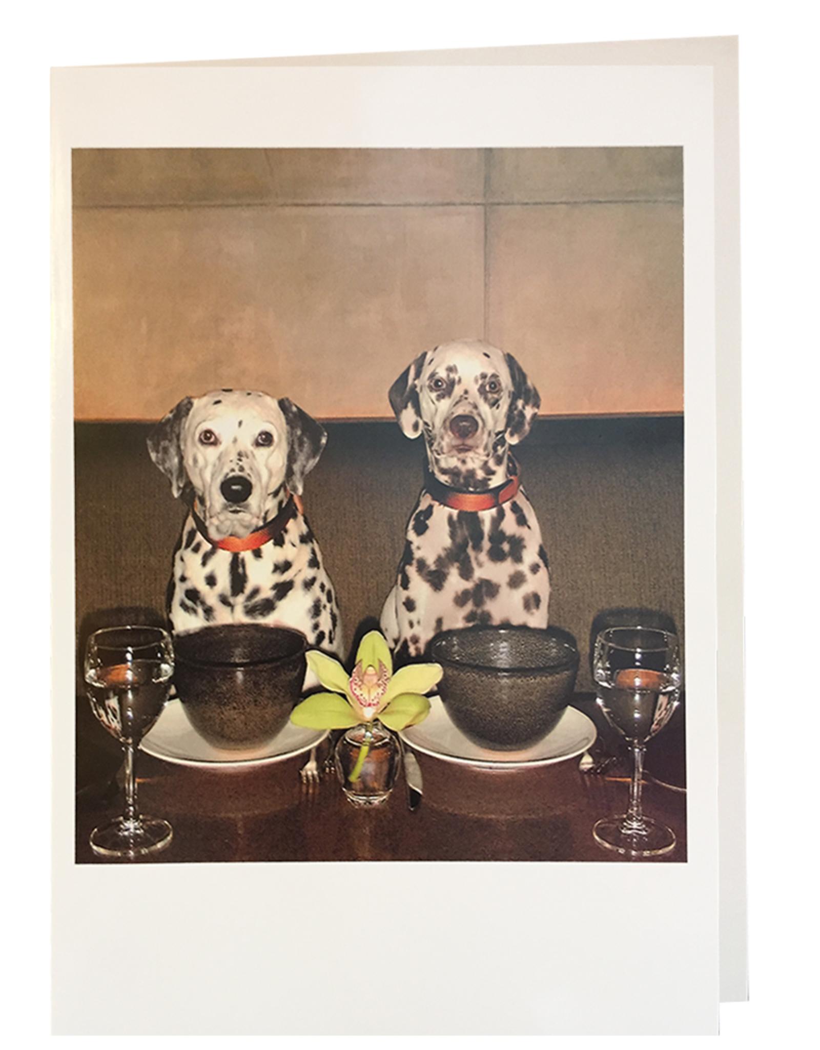 Palm Press Valentine's Day Card Dalmation Puppy Love
