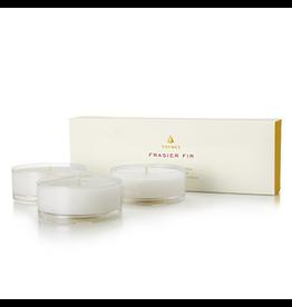 Frasier Fir Large Tea Light Candles Refills Set 1.5oz 3pk