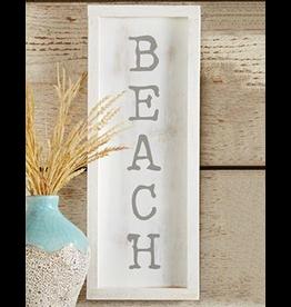 Mud Pie Small Beach House Framed Wall Plaque w BEACH