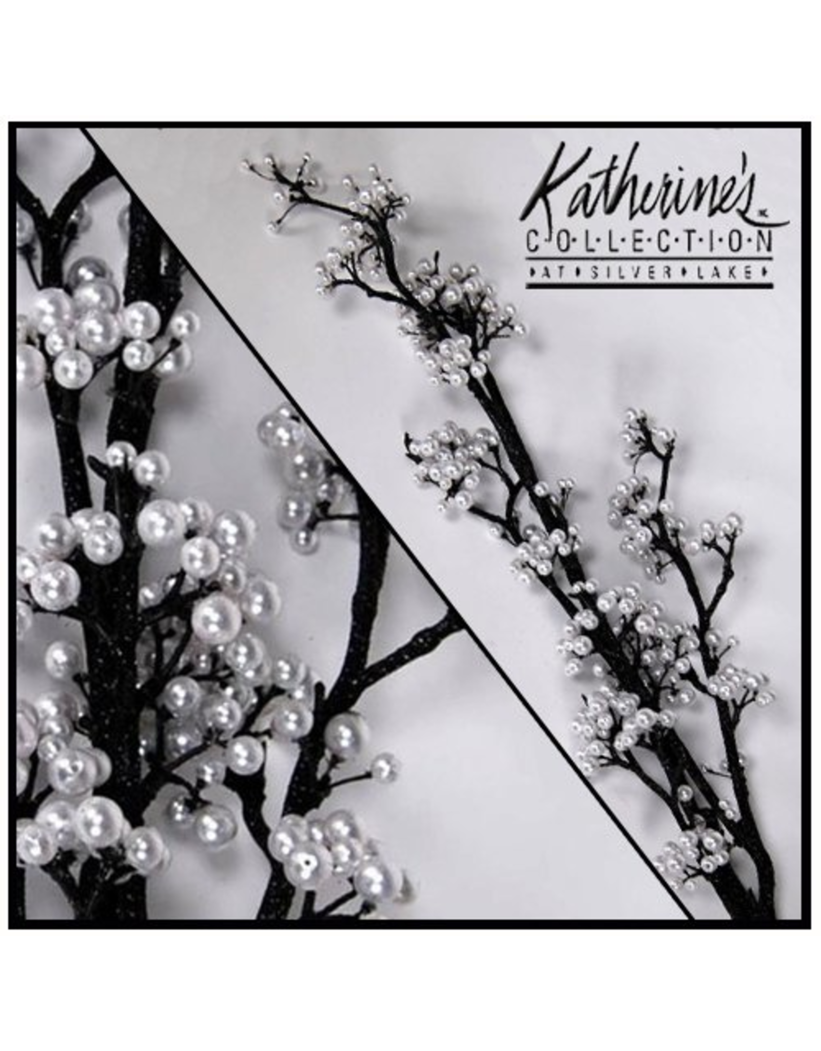 Katherine's Collection Black Pearl Branch 55 Inch