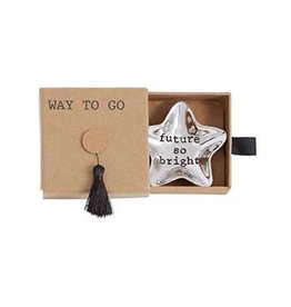 Mud Pie Mini Graduation Trinket Dish in Tassel Gift Box - Future