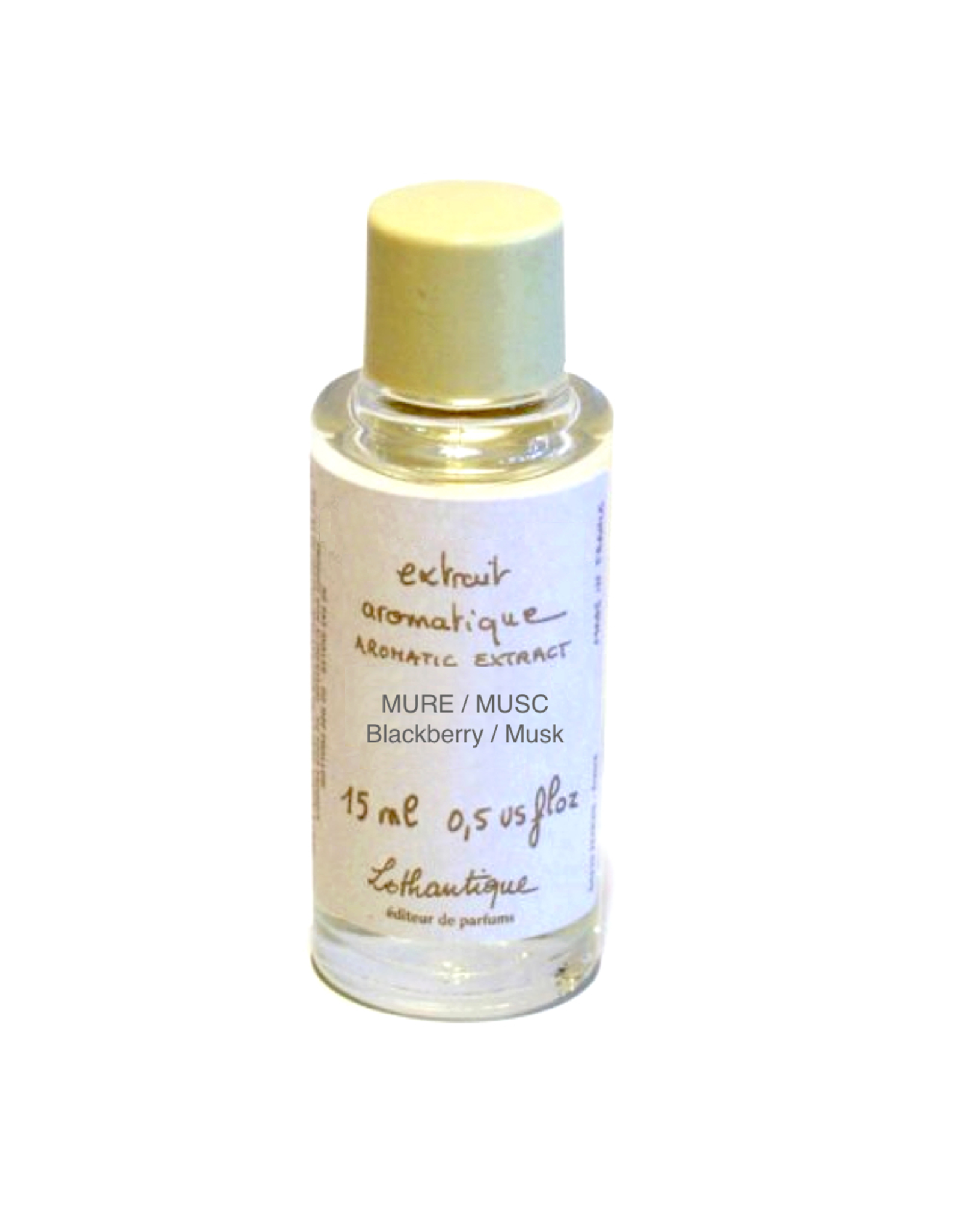 Lothantique Aromatic Extract Essential Perfume Oil 15ml  Blackberry Musk