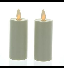Luminara Flameless Candle Ivory Votive Set 1.75x3 inch