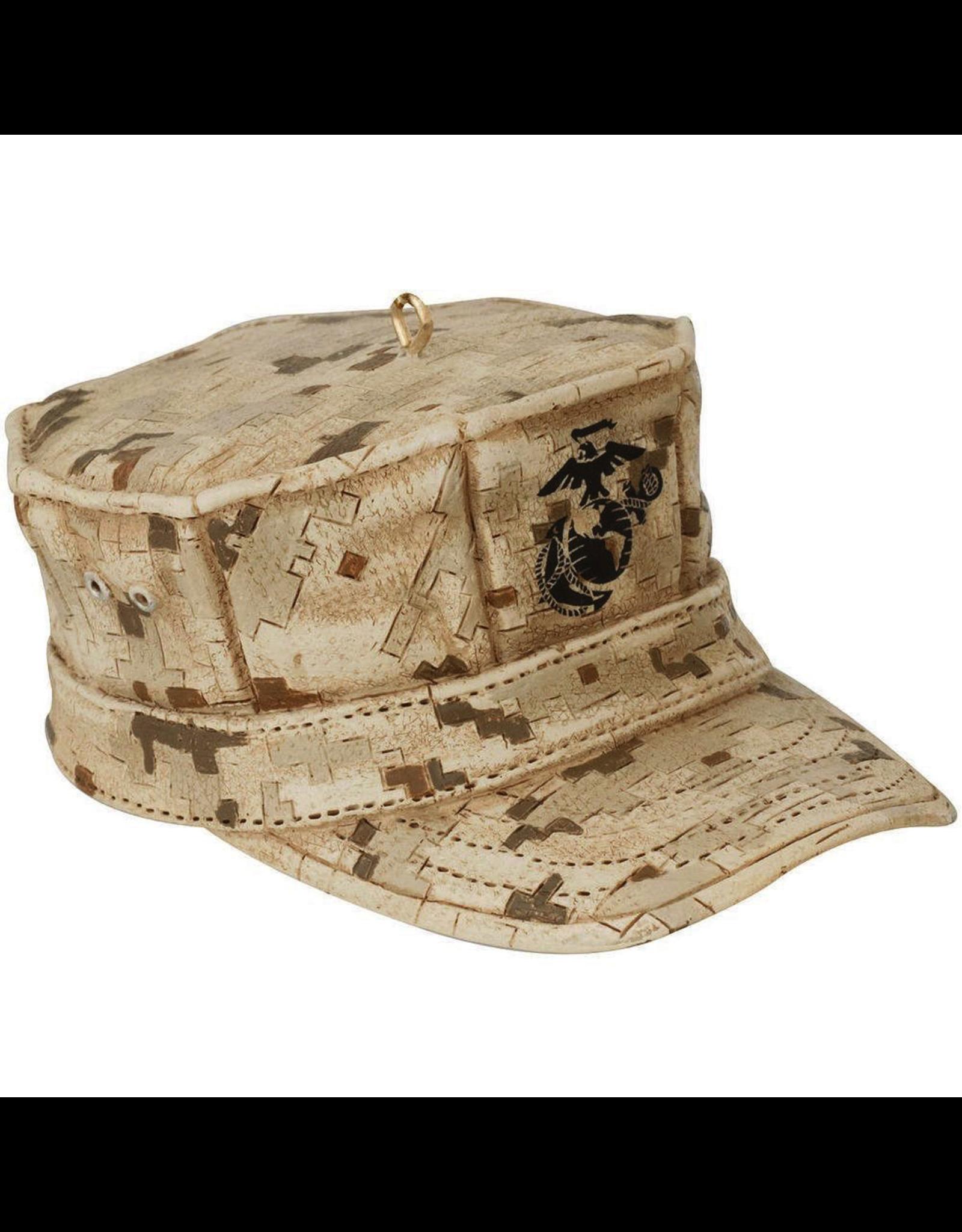 Kurt Adler United States Marine Corps Cap Christmas Ornament