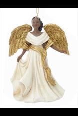 Kurt Adler Black American Angel Ornament -C