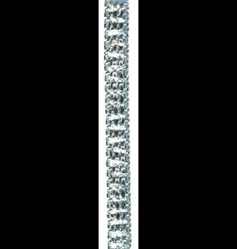 Caspari Platinum Bracelet Ribbon 10yds
