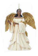 Kurt Adler Black American Black Angel Ornament -A
