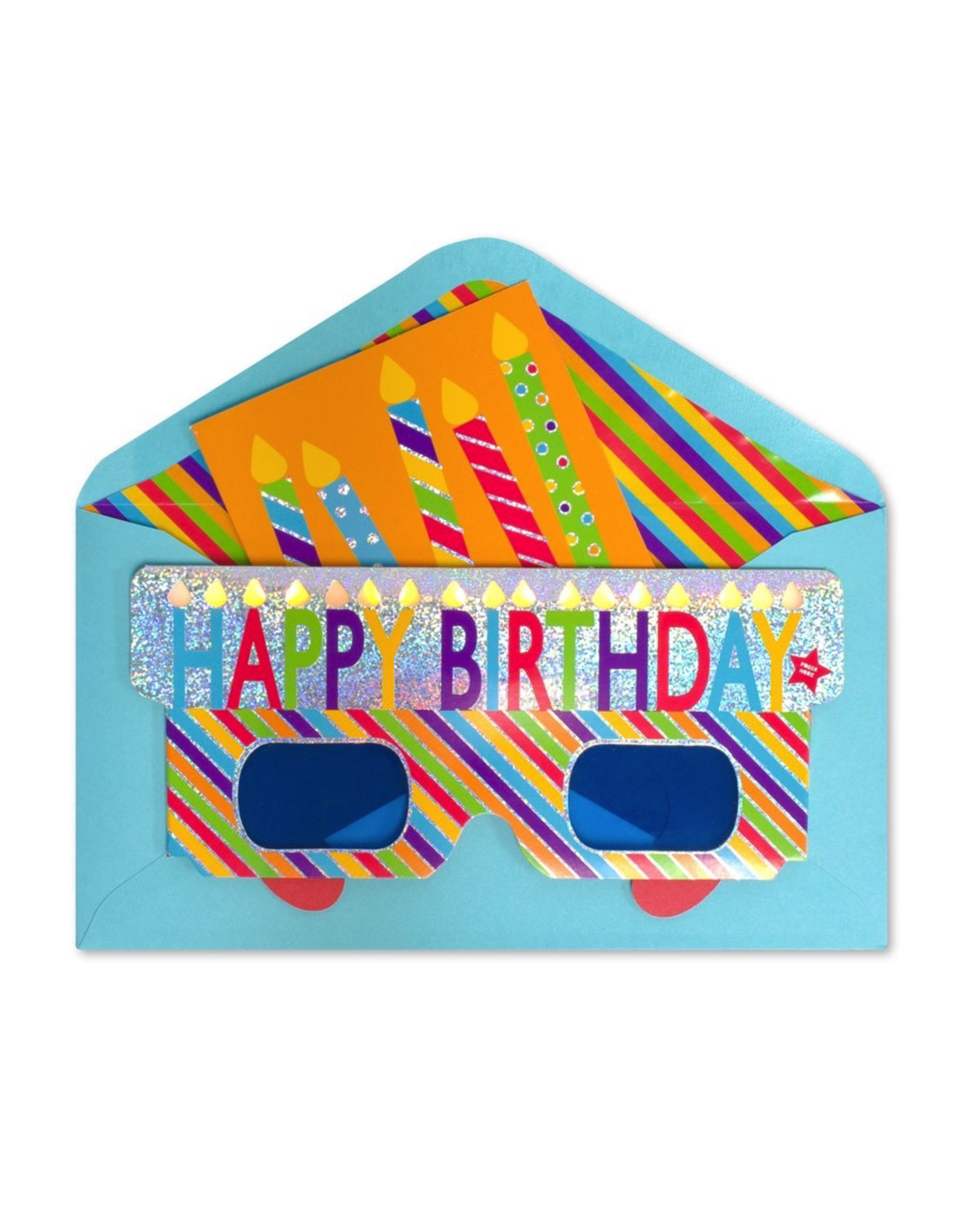PAPYRUS® Birthday Card Birthday Glasses