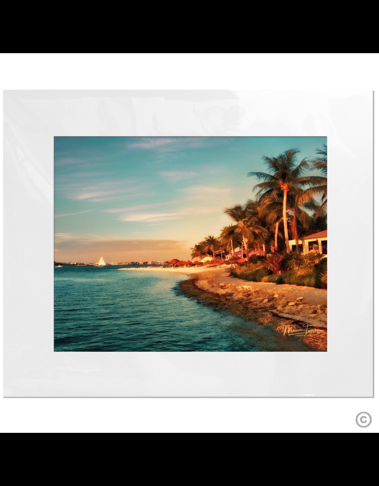 Maureen Terrien Photography Art Print Sunset Key Sunset 11x14 - 16x20 Matted