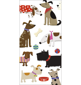 Caspari Paper Facial Tissues Package of 10 Hankies Dogs and Toys