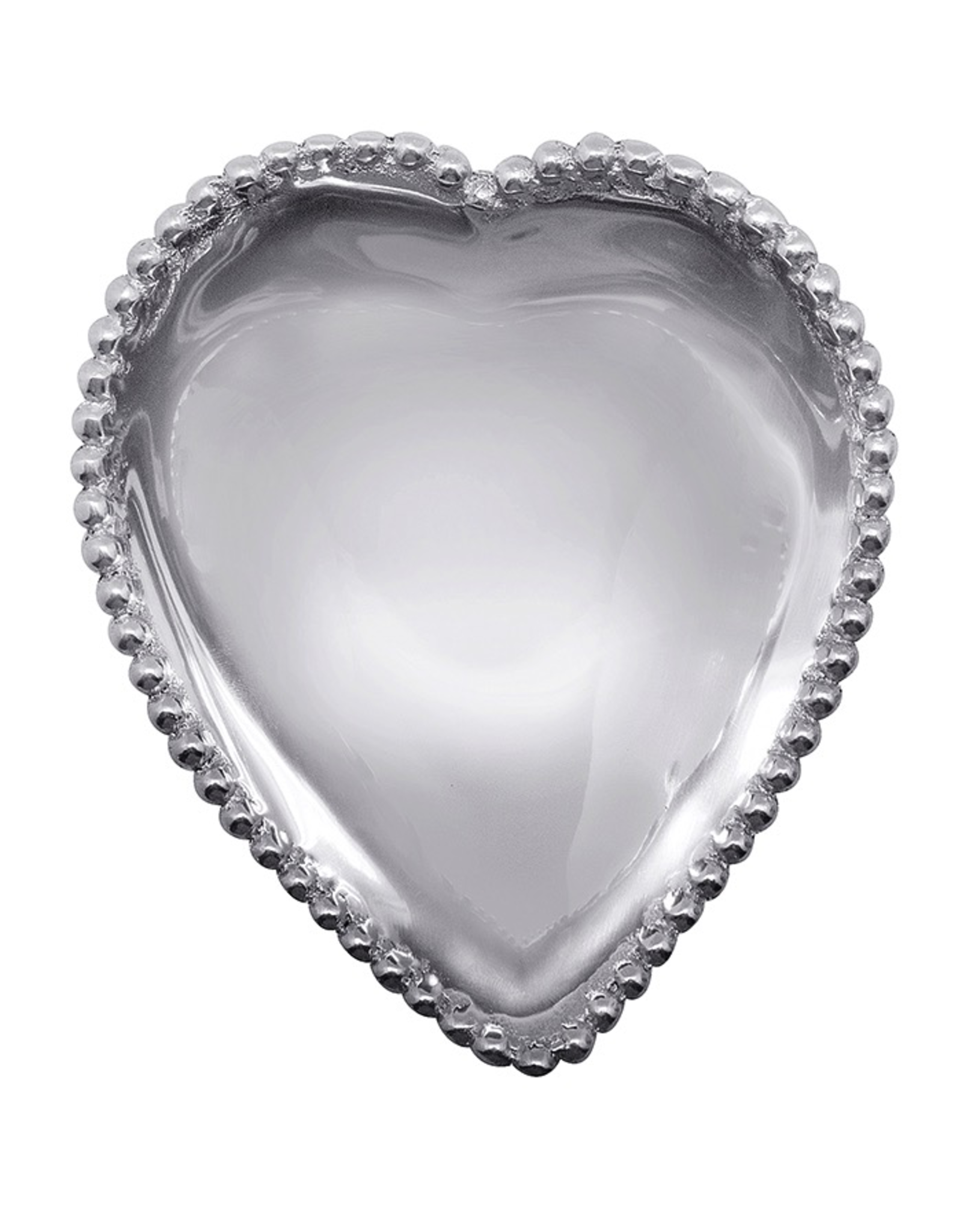 Mariposa Beaded Collection 3408 Beaded Heart Bowl