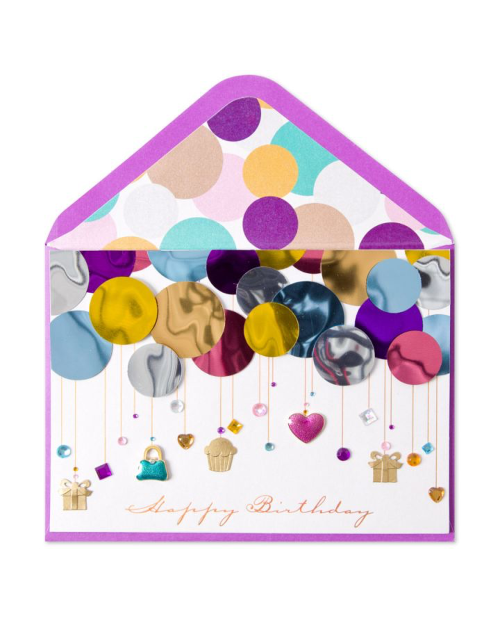 PAPYRUS® Birthday Card Layers of Balloons