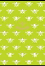 Caspari Blank Card Bee Happy Embossed
