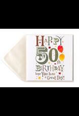 PAPYRUS® Birthday Card Happy 50th Birthday