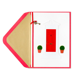 PAPYRUS® New Home Card Red Door