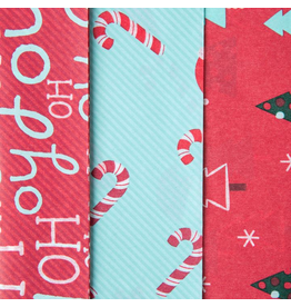 PAPYRUS® Christmas Tissue Paper 9 Sheets Whimsy Trio