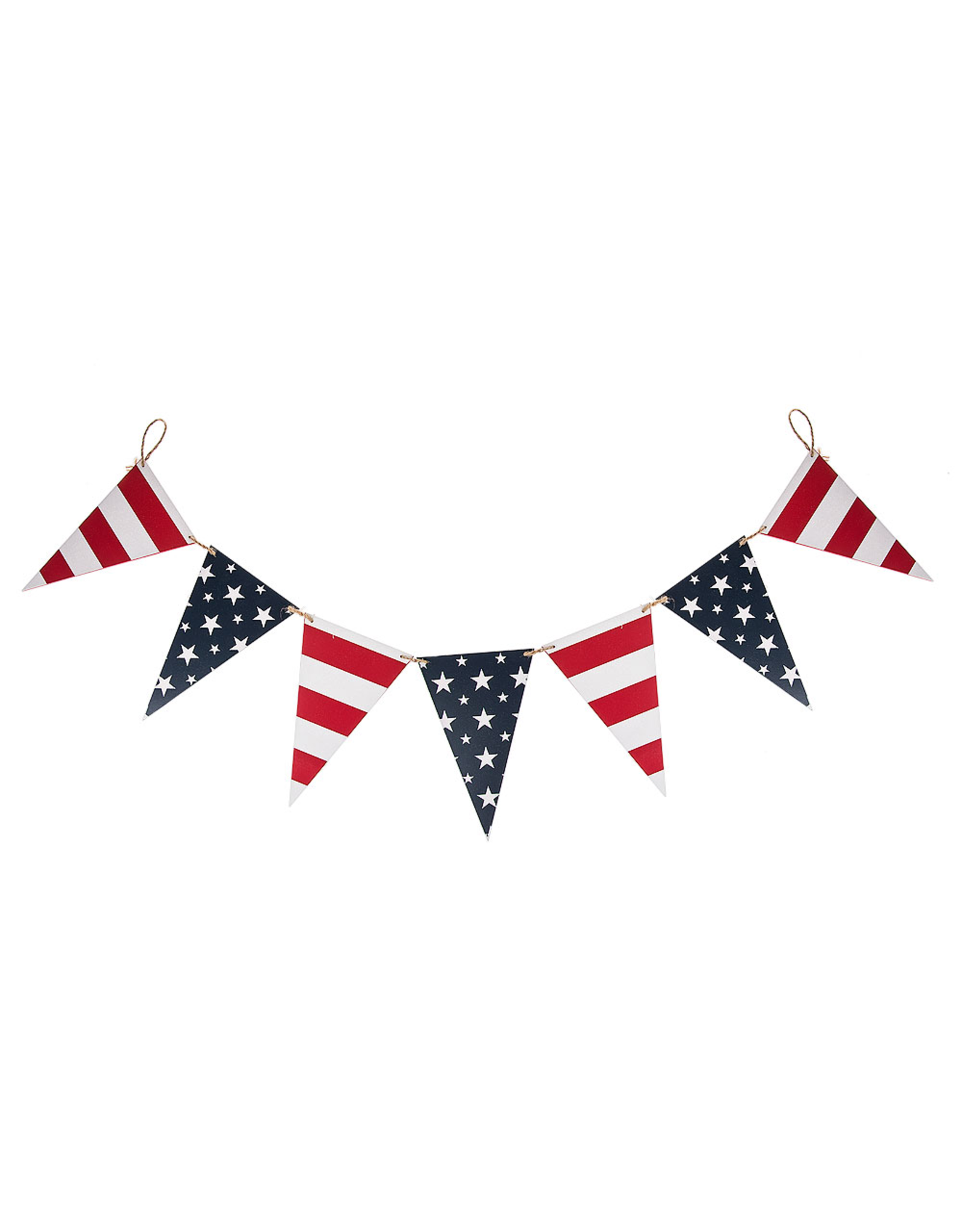 Midwest-CBK Patriotic Banner Red White Blue Stars and Stripes Flag 42L