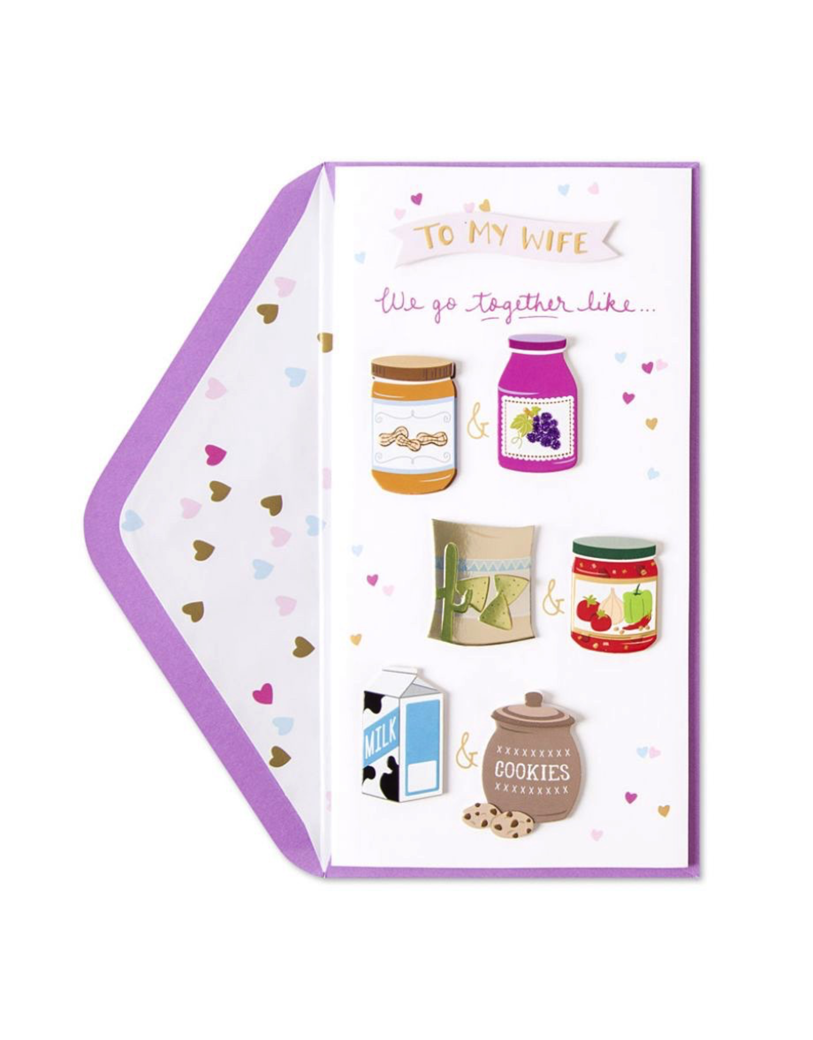 PAPYRUS® Birthday Card For Wife Perfect Pairs