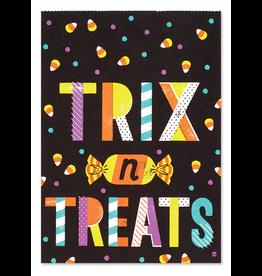 PAPYRUS® Halloween Treat Bags 5x7 24pk w 24 Gift Tags - Trix n Treats