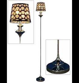 Mark Roberts Home Decor Petite Chrome Studio Floor Lamp - FLOOR SAMPLE