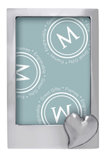 Mariposa 5x7 Photo Picture Frame 1452 Heart Vertical