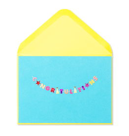 PAPYRUS® Congratulations Card W Mini Congratulations Banner