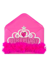 PAPYRUS® Birthday Card Birthday Girl Wearable Tiara Card