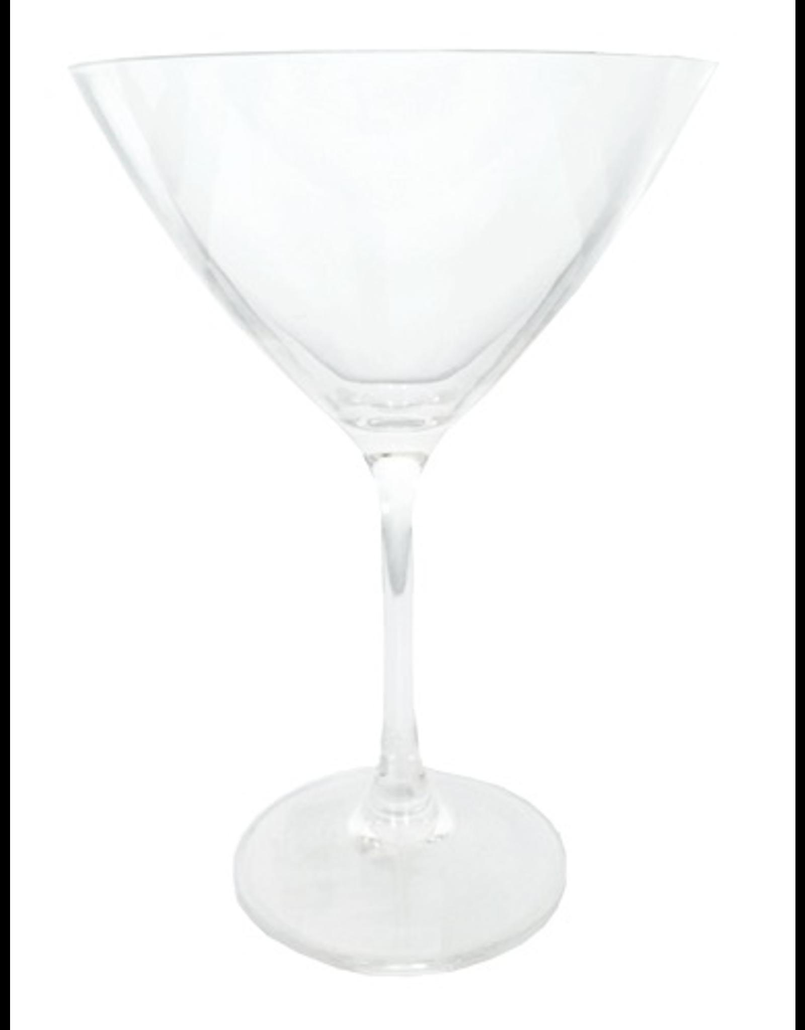 Caspari Acrylic Martini Glass 10oz Shatter Resistant BPA Free