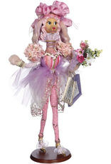 Mark Roberts Fairies Spring Shopping Prissy Poodle 27 inch
