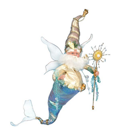 Mark Roberts Fairies Under The Sea Merman Fairy LG 23 Inch Signed