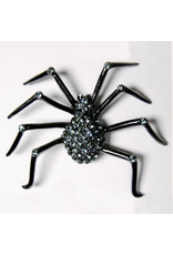 K&K Interiors Black Spider Brooch Jewelry | Brooches